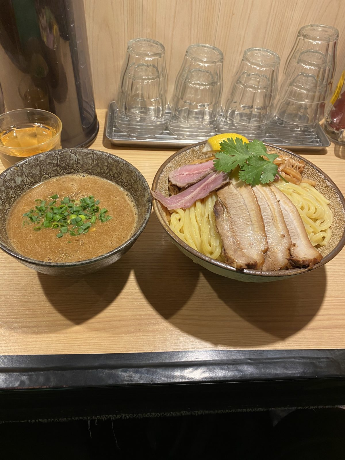 ラム豚骨つけ麺