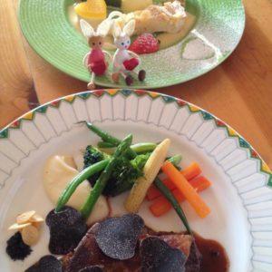 お箸で食べられるフランス料理