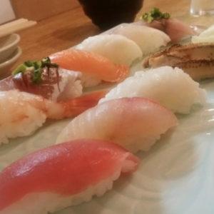 シャリが小さめのお寿司